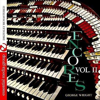 George Wright - George Wright: Vol. 2-ekstranummer [DVD] USA import