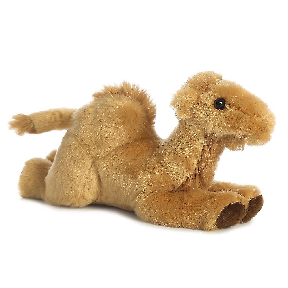 Aurora World Camel Mini Flopsies Plush Toy (Caramel/Brown)