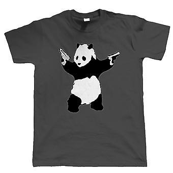 Pandas's with Guns, Mens TShirt