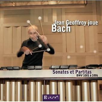 J.S. Bach - Jean Geoffroy Joue Bach [CD] USA import