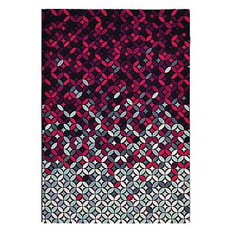 Cosmoz Deep Purple geometrische Teppich - Ted Baker 58905