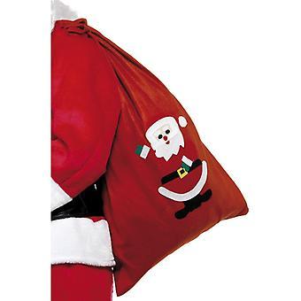 Nicholas sack Santa Santa Claus of Xmas bag