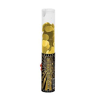 Confetti Cannon 25 cm gold decoration wedding party Popper confetti shooter