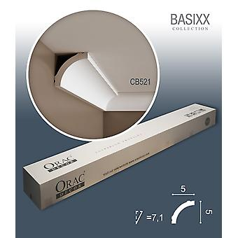 ORAC decor CB521 BASIXX 1 box SET with 10 crown moldings corner strips | 20 m