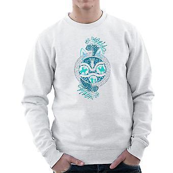 Princess Mononoke skog anda Montage Mäns tröja