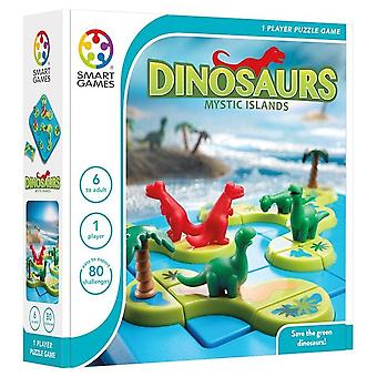 Smart Games Dinosaurs Mystic Islands Puzzle Game
