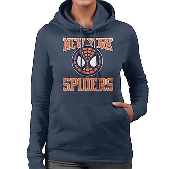 New York Spiders Spiderman Homecoming Women's Hooded Sweatshirt