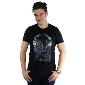 Marvel menns lege merkelig plakat t-skjorte