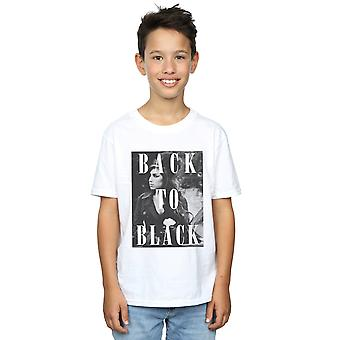 Amy Winehouse Boys Back To Black T-Shirt