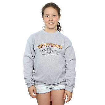 Harry Potter Girls Gryffindor Team Quidditch Sweatshirt