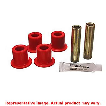 Energy Suspension Blattfeder Buchse Set 4.2132R rot hinten passt: FORD 1975-19
