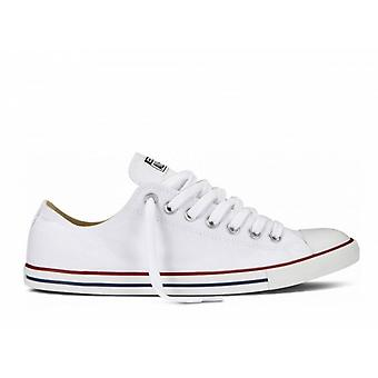 Converse All Star Lean Ox White Low Top Canvas Shoes