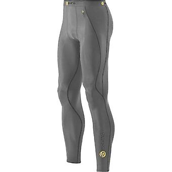 SKINS A200 Men's Compression Long Tights gray marle - B60102001