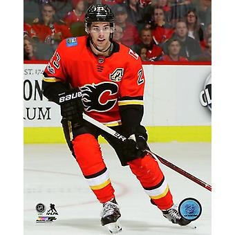 Sean Monahan 2017-18 Action Photo Print