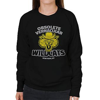 Obsolete Vernacular Wildcats Royal Tenenbaums Women's Sweatshirt