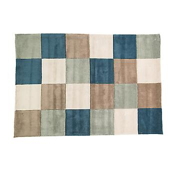 Flair Rugs Infinite Inspire Squared Colour Square Floor Rug