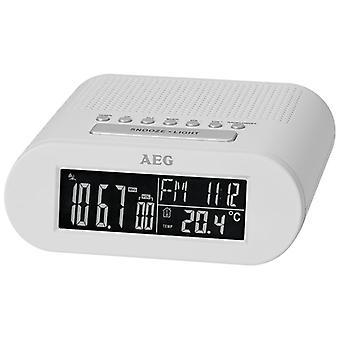 AEG Radio väckarklocka MRC 4145 vit