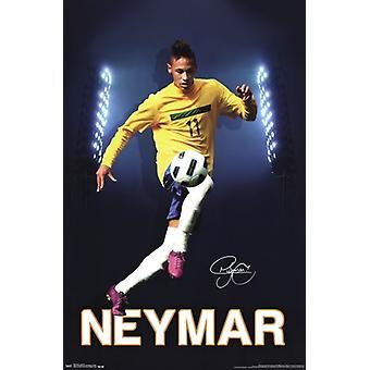 Neymar - Semforo ポスター印刷