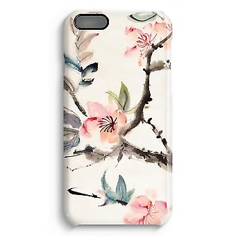 iPhone 6 Plus Full Print Case (Glossy) - Japenese flowers