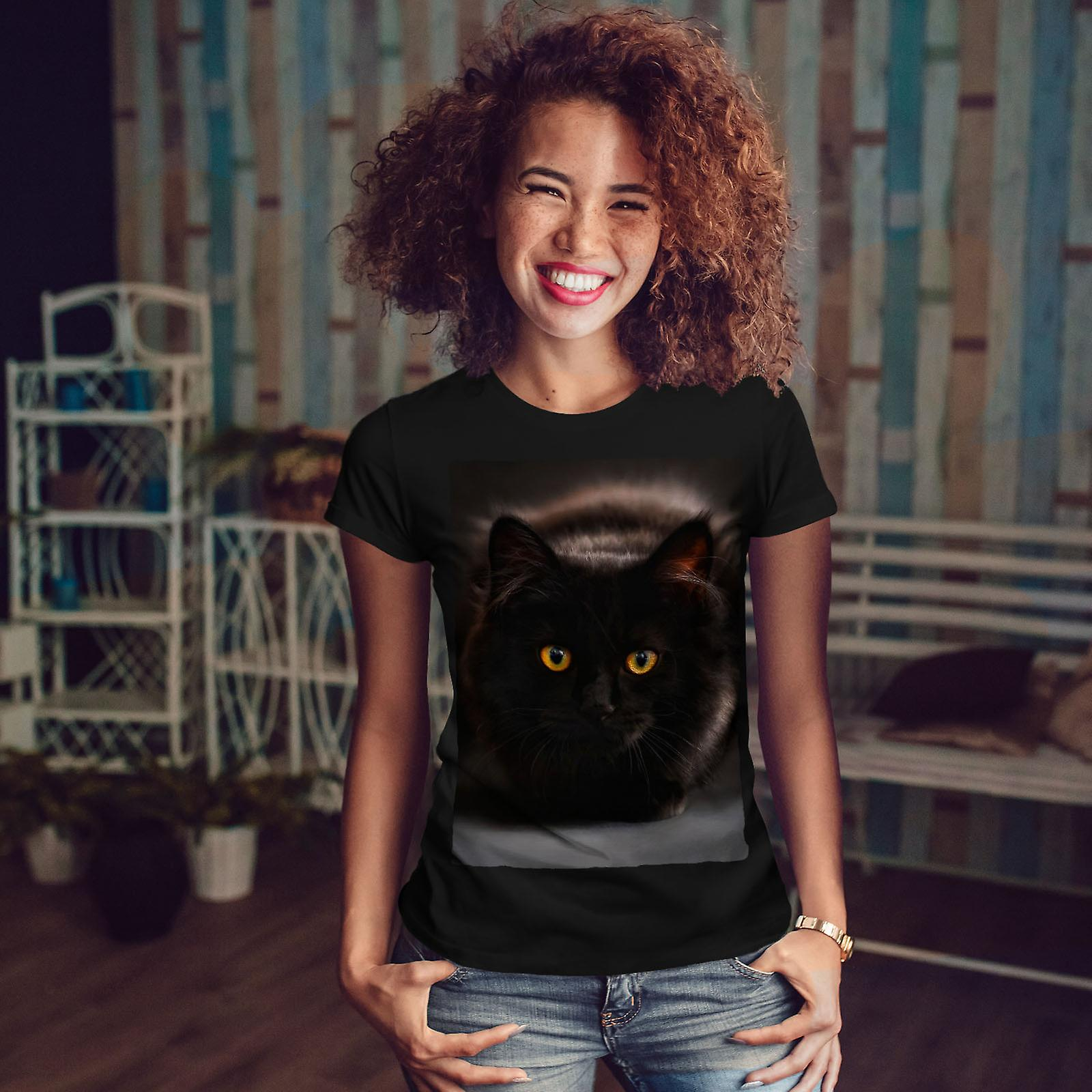 svart katt fitta