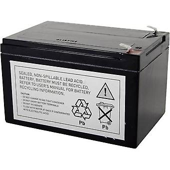 UPS battery Conrad energy replaces original battery RBC4 Suitable for model AP