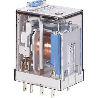 Plug-in relay 24 Vdc 10 A 3 change-overs Finder 55