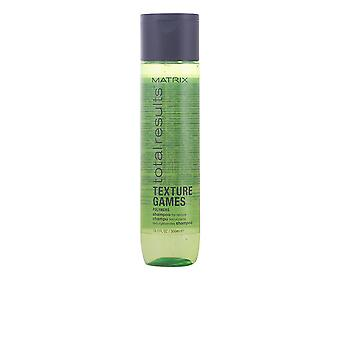 Matrix Total Results Texture Games Shampoo 300ml New Unisex