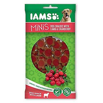 IAMS Snack de cordero y arándanos Minis 100 gr. (Dogs , Treats , Eco Products)