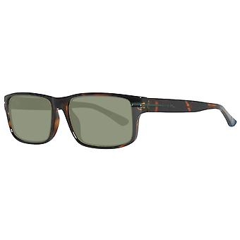 GANT sunglasses rectangle mens Brown