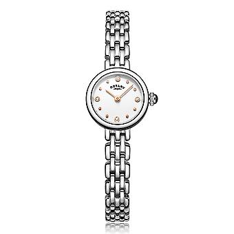 Rotary Classic Stainless Steel Elegant Stones Ladies' Watch