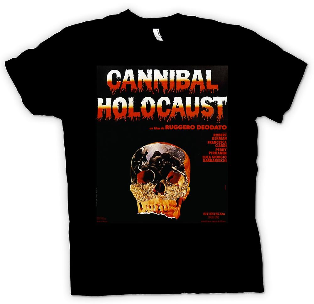 Womens T-shirt - Cannibal Holocaust - Horror - Poster