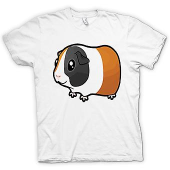 Мужская футболка-мультфильм морская свинка дизайн