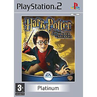 Harry Potter og hemmeligheder Platinum (PS2) kammer
