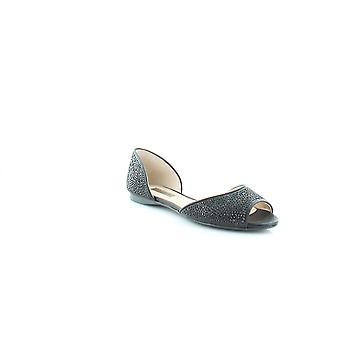INC International Concepts Womens elsah Suede Peep Toe Casual Slide Sandals