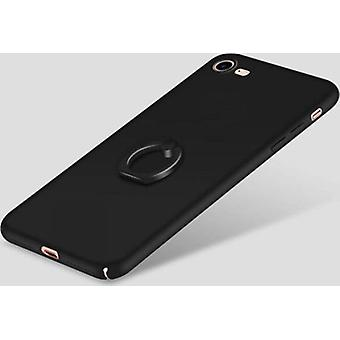 Matte black shell with grip-ring on the back!