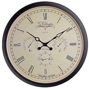 Nextime Wall Clock 45 Weather Station (Decoration , Clocks)