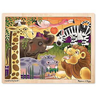 Melissa & Doug African Plains Jigsaw