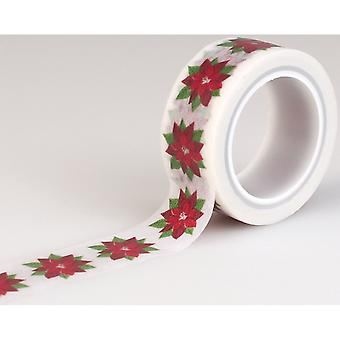 Have A Merry Christmas Decorative Tape-Poinsettia