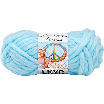 Lion Brand London Kaye Yarn-Baby Blues