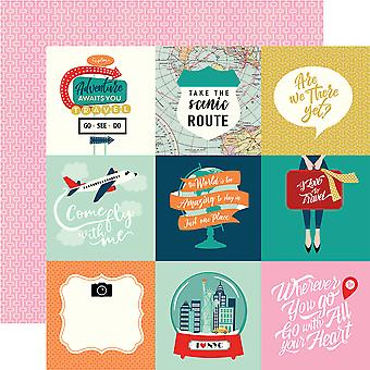 Pack Your Bags Double-Sided Cardstock 12