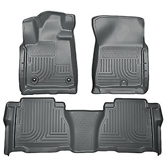 Husky Liners Front & 2nd Seat Floor liner passer til 12-13 Tundra CrewMax Double Cab