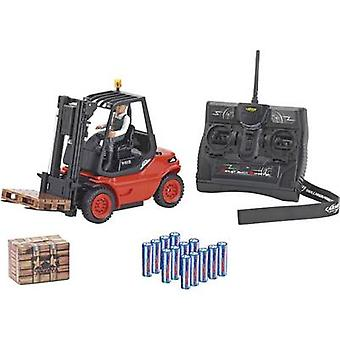 Carson Modellsport Linde H 40 D forklift truck 1:14 RC scale model for beginners Heavy-duty vehicle