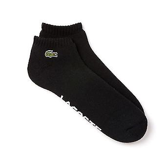 Lacoste Sport gepolsterte Sneaker Socken, schwarz, 41/46 (6)