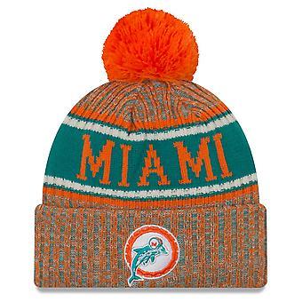 Linea laterale nuova era NFL invertire cappello - Miami Dolphins
