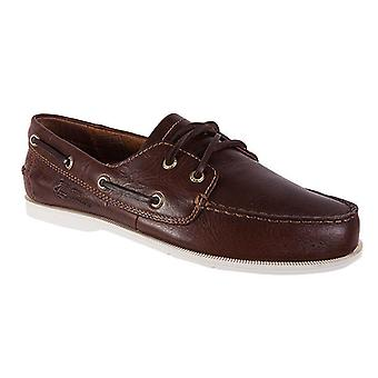 Helly Hansen men's boat shoes top classic leather Brown