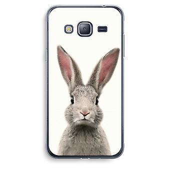 Samsung Galaxy J3 (2016) Transparent Case (Soft) - Daisy