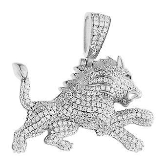 Premium Bling - 925 colgante de plata León