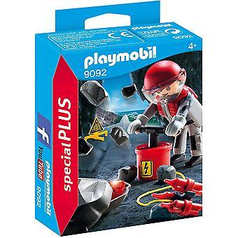 Set Playmobil 9092 especial más Rock Blaster con juguete de escombros