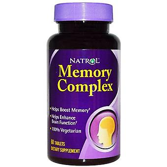 Natrol Memory Complex 60 tablets (Sport , Athlete's health , Memory and concentration)