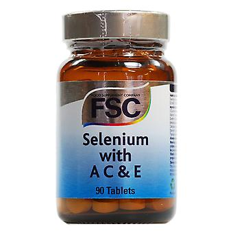 FSC Selenium with A C and E ,  90 Tablets